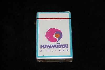 Vintage Hawaiian Airlines Playing Cards in Sealed Cellophane