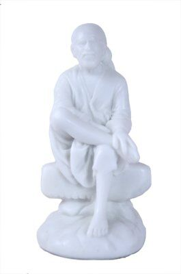 Lord Sai Baba Statue Indian Religious Figurine Free Shipping