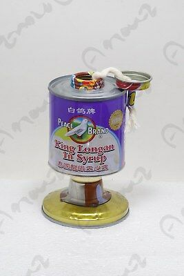 1 Pcs New CAN Zinc Barn Railroad Kerosene Oil Lamp Lantern Vintage Line Copper