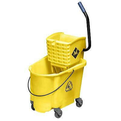 Rubbermaid Mop Bucket & Wringer Wave Brake Bucket 35 Quart