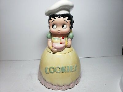 New Vintage Rare 1995 Betty Boop Cookie Jar Canister