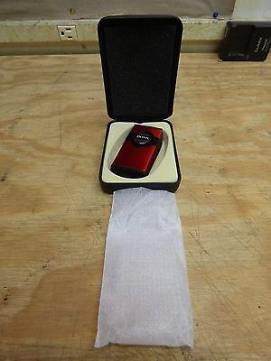 Boss Twin Point Double Torch Cigar Lighter - Red *BRAND NEW* FREE SHIPPING!!