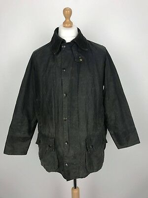 Vintage Barbour A155 Beaufort Waxed Country Jacket Coat C40/102CM Green