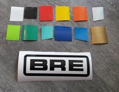Bre Performance Reproduction Decal Vinyl Sticker Race Drag Track Datsun