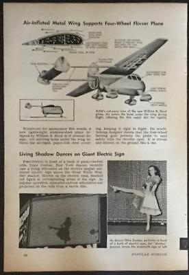 Stout Aerocar 1941 pictorial 1st Flying Car Automobile