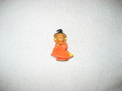 Vintage Halloween candle, Gurley, witch, cute!