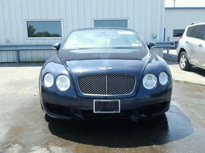 2007 Bentley Continental GT Mulliner Edition 2007 Bentley Continental GT Mulliner Edition Salvage Title For Sale Cheap