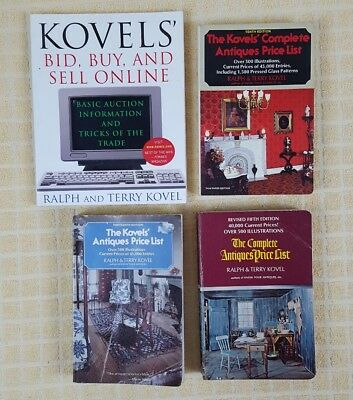 Kovels' Antiques and Collectibles Price Guide Lot of 3 + Bid Buy Sell Online