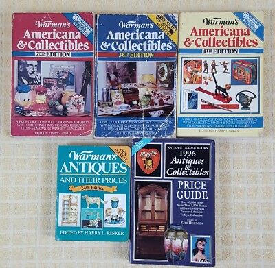 Warman's' Antiques and Collectibles Price Guide Lot of 3 + Bid Buy Sell Online