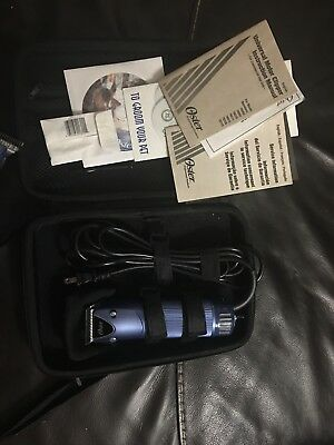 Oster Turbo A5 2 Speed Professional Dog Cat Animal Clipper 78005-314