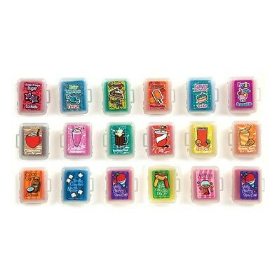 Scented Kneaded Erasers In Case - Set of 6  your choice
