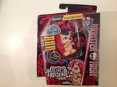 Monster High Secret Creepers Pets Cushion Electronic record & Share Secret.