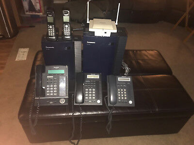 panasonic kx-tda50 and TVA 50 voice mail with 3 phones and 2 cordless with base
