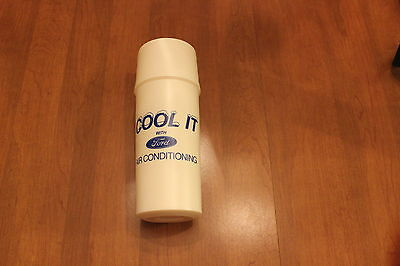 FORD  Cool it With Ford Air Conditioning Family brand thermos circa 1980s