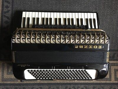 Hohner Atlantic IV Accordion 120 Bass Early 60's mint