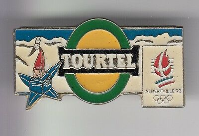 Rare Pins Pin's .. Olympique Olympic Albertville 92 Biere Tourtel Mascotte 2 ~17