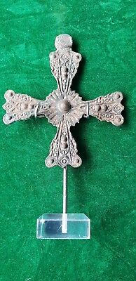 byzantine large bronze cross 7th 9th century