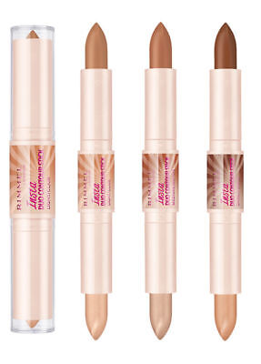 RIMMEL Insta Duo Contour Stick 2 x 4g - Choose Shade - NEW Sealed