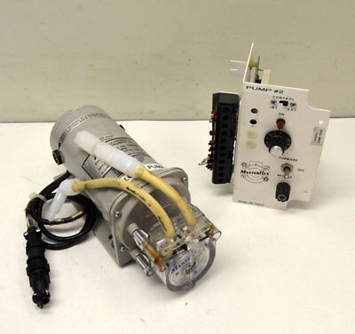 Cole-Parmer Masterflex 7554-20 Vari-Speed Drive Peristaltic Pump + 7021-26 Head