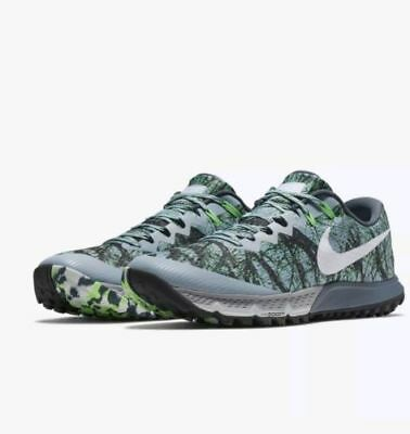 various colors 596ba a70ae coupon for nike air zoom terra kiger 4 blue grey green 880563 400 mens  sizes 10.5