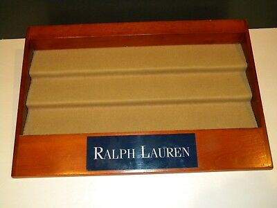 Ralph Lauren Display Shelf for Watches Sunglasses Cologne