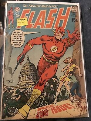 The Flash 200 Key Issue