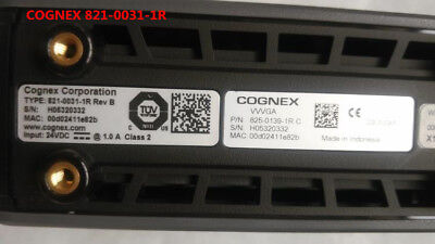 COGNEX 821-0031-1R tested and used in good condition