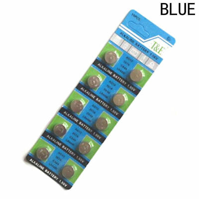 10 Pcs LR44 AG13 A76 Batteries HOT Packing FREE POST Worldwide for Watch Toys AU