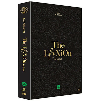 EXO PLANET #4 THE ELYXION IN SEOUL DVD 2 DISC(CD)+Special Post Card K-POP SEALED