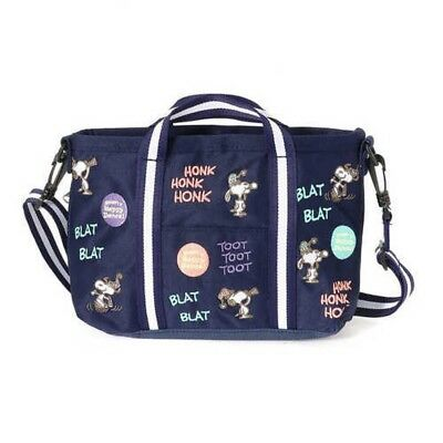Peanuts SNOOPY ROOTOTE 2Way Shoulder Bag Toto Happy Dance Japan with Tracking