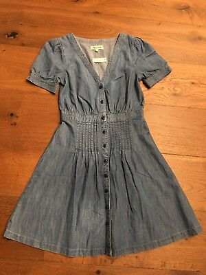 1d4dc853a25 MADEWELL DAYLILY PINTUCK Dress in Sweet Blossoms 10