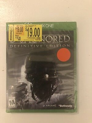 🔥 Dishonored: Definitive Edition (Microsoft Xbox One, 2015) Factory Sealed NEW!