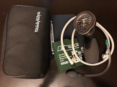 Welch Allyn Sphygmomanometer DS66 - includes pediatric and adult reusable cuffs