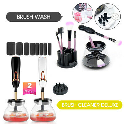 Electric Makeup Brush Cleaner And Dryer Set Includes Brush Collar Stand 2019 New