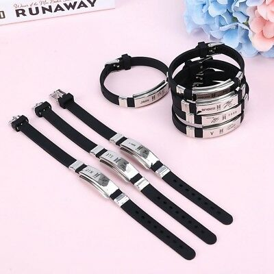 Kpop BTS Bangtan Boys Bracelet SUGA JIMIN V Wristband Fashion Jewelry Gift UK