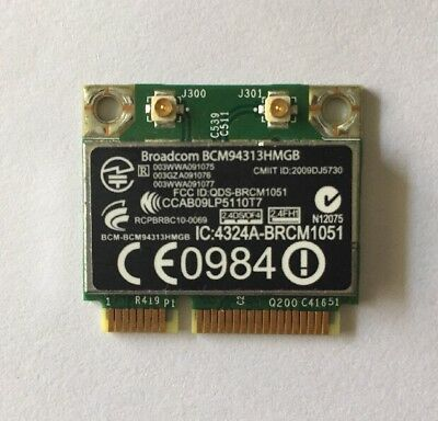 Broadcom BCM94313HMGB Mini PCI-E WIFI & Bluetooth Card