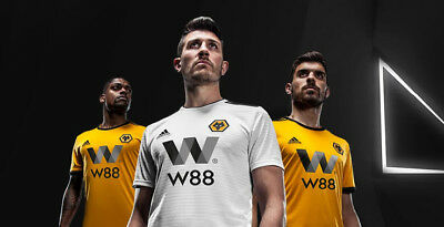 Wolves 2018/19 HOME & AWAY Shirts - Adult Sizes -BNWT