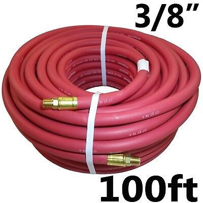 "3//8/"" 100ft 100 feet Continental RUBBER AIR COMPRESSOR HOSE MADE IN USA"