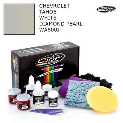 Chevrolet Tahoe White Diamond Pearl WA800J Touch Up Paint