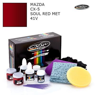 Mazda Cx-5 Soul Red Met 41V Touch Up Paint