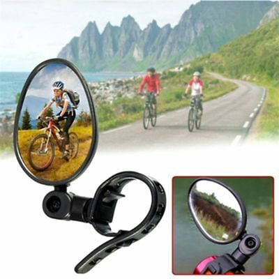 NEW Cycling Bike Bicycle Handlebar Flexible Safe Rearview Rear View Mirror