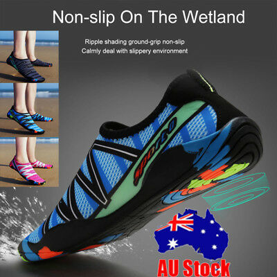 Unisex Water Shoes Slip On Quick-Dry Socks Surf Diving Yoga Exercise Reef Shoes