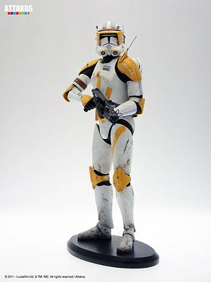 Attakus Star Wars Sw Clone Commander Cody Ready To Fight 1/5 Statue Neu & Ovp