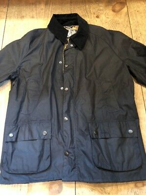 Barbour Ashby Wax Jacket Navy #MWX0339NY92 Size XXL $399 NWT mens