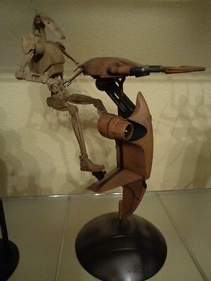 Star Wars Sideshow  stap with battle droid
