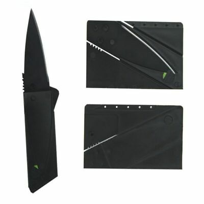 10pcs Cardsharp Kreditkarte Klapprasierer Sharp Wallet Messer Survival Tool Thin