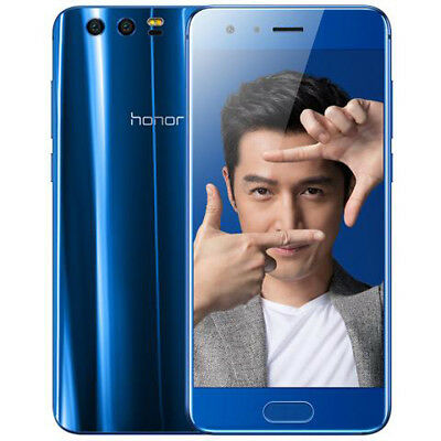 """HUAWEI Honor 9 4G Smartphone Handy ohne Vertrag Android 7.0 5.15"""" FHD Dual SIM"""