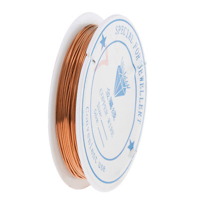 1 Roll Reel of Copper Wire Wirework Craft Jewellery Making Jewelry Wire