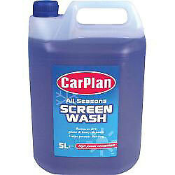 Carplan All Season Screen Wash Windscreen Window Removes Dirt Cleans Windscreen
