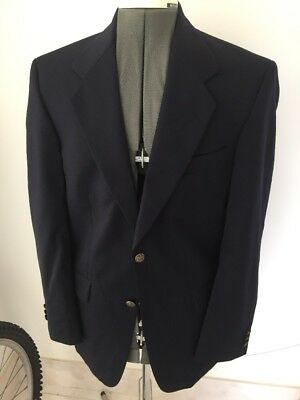 Military Style Officers Blazer Yacht Club Mess Dinner Dance Navy Blue 40""